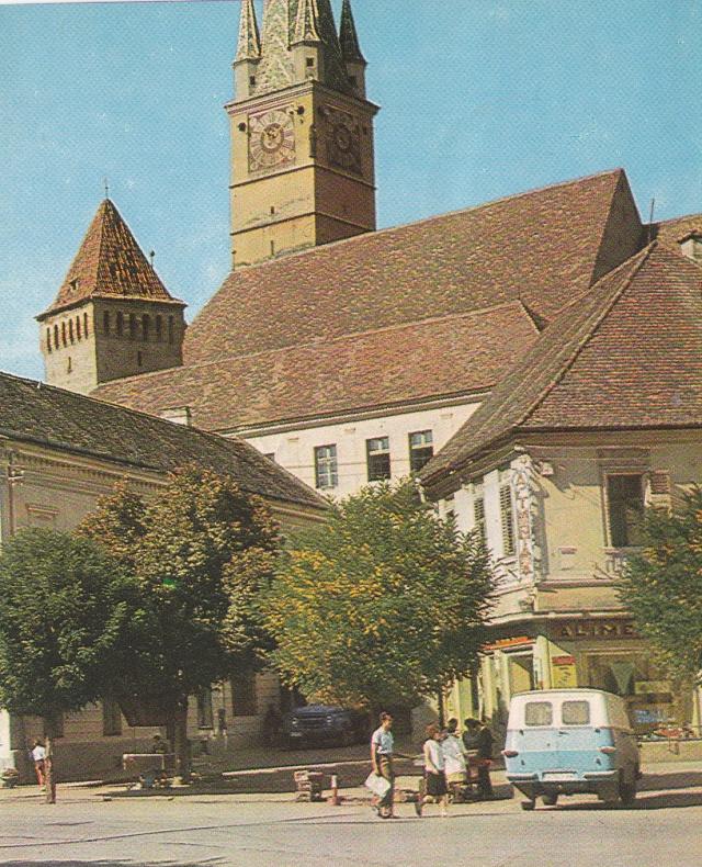 Befestigte Kirche in Siebenbürgen (1969)