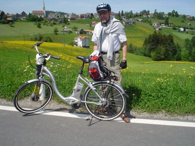 E-Bike im Sommer