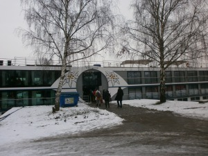 MS Edelweiss in Strassburg am 31.12.14